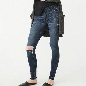 Abeecrombie | The AF Super Skinny Jean Distressed